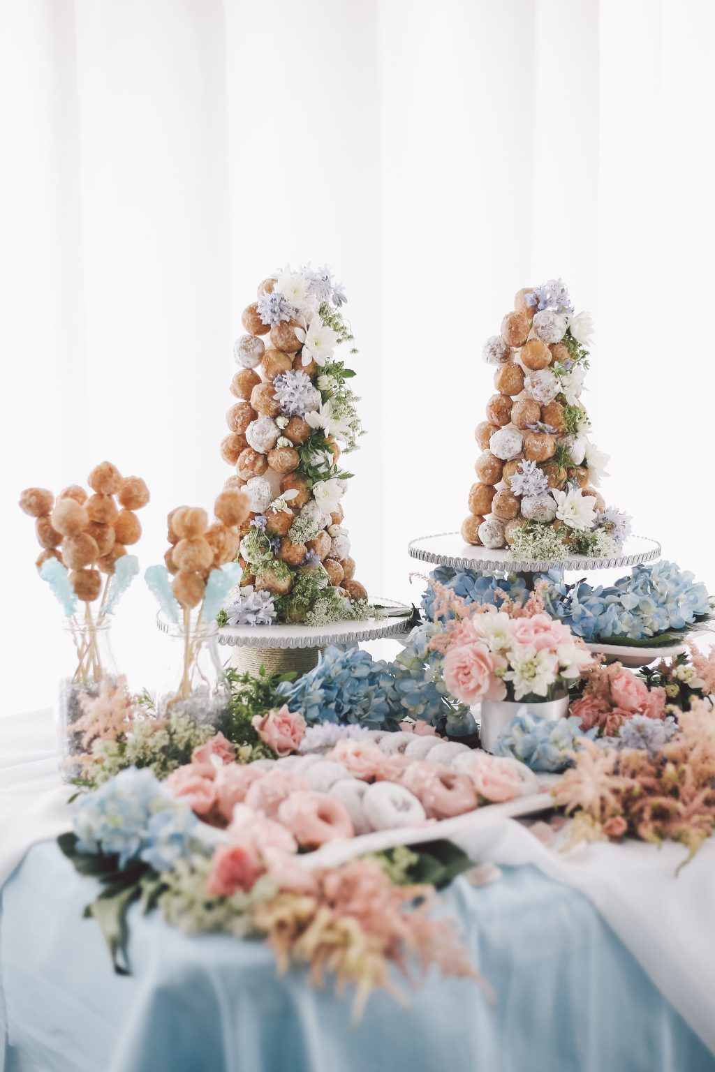 Dessert table featured on Style Me Pretty - photos by Olli Studio