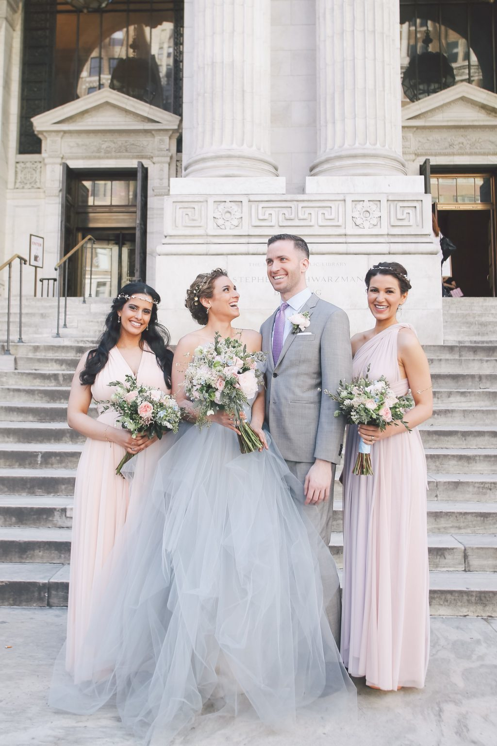New York Public Library wedding inspiration featured on Style Me Pretty