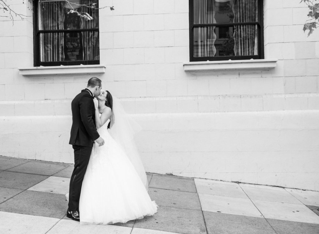 Real Bella Figura wedding at the Fairmont in San Francisco