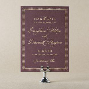 Myrtle Save the Date design