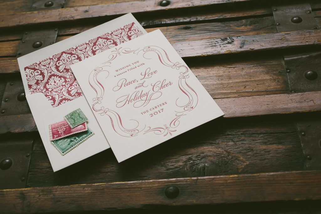 Christmas cards by Jessica Downs for Bella Figura