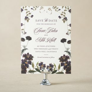 Arden Save the Date design