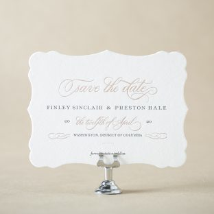 Townsend Save the Date design