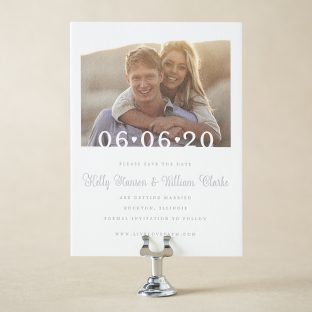 Picket Save the Date design