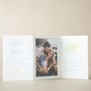 Mickey Save the Date design