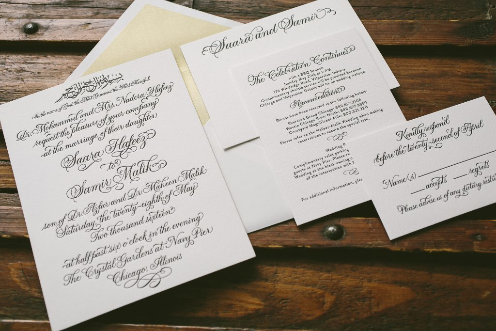 chicago invitations pressd letterpress wedding invitation ideas from bella figura