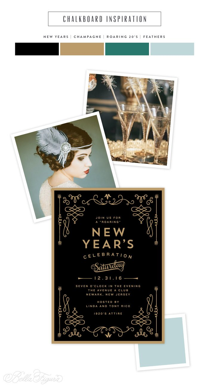 Holiday inspiration - roaring 20\'s inspired New Year\'s Eve party ...