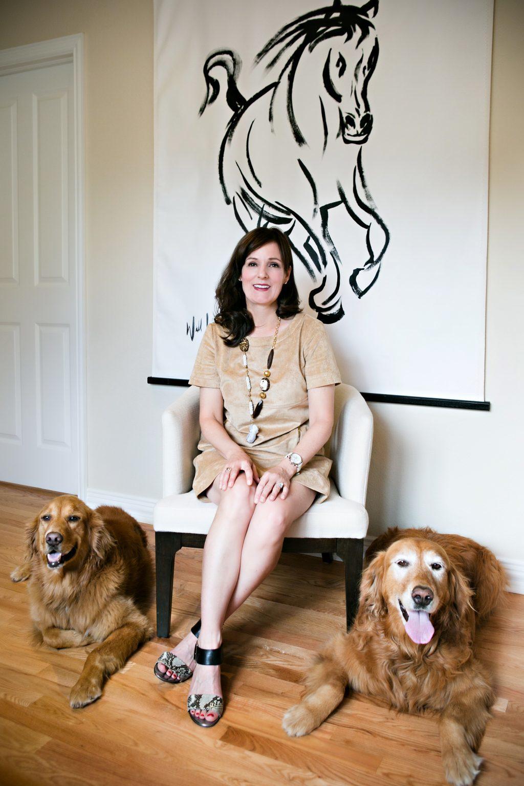 Bella Figura calligrapher Kelle McCarter