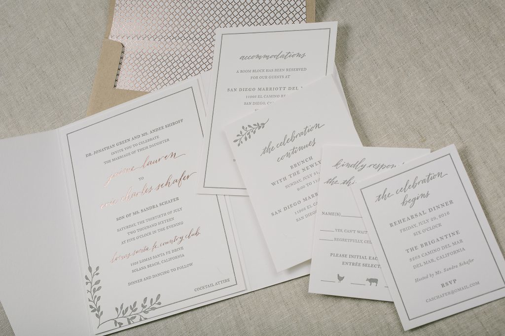 Press D Letterpress Wedding Invitation Ideas From Bella Figura