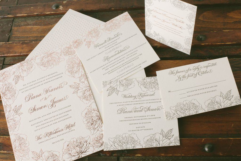 Five ways to customize our Jorie floral wedding invitations - Bella ...