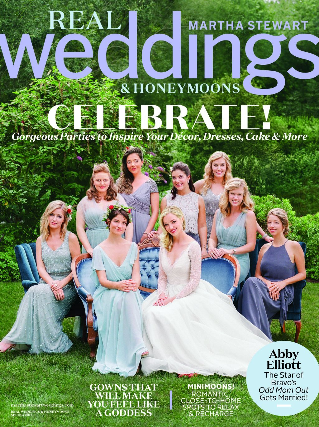 Martha Stewart's Real Weddings Magazine - Spring 2017 Issue