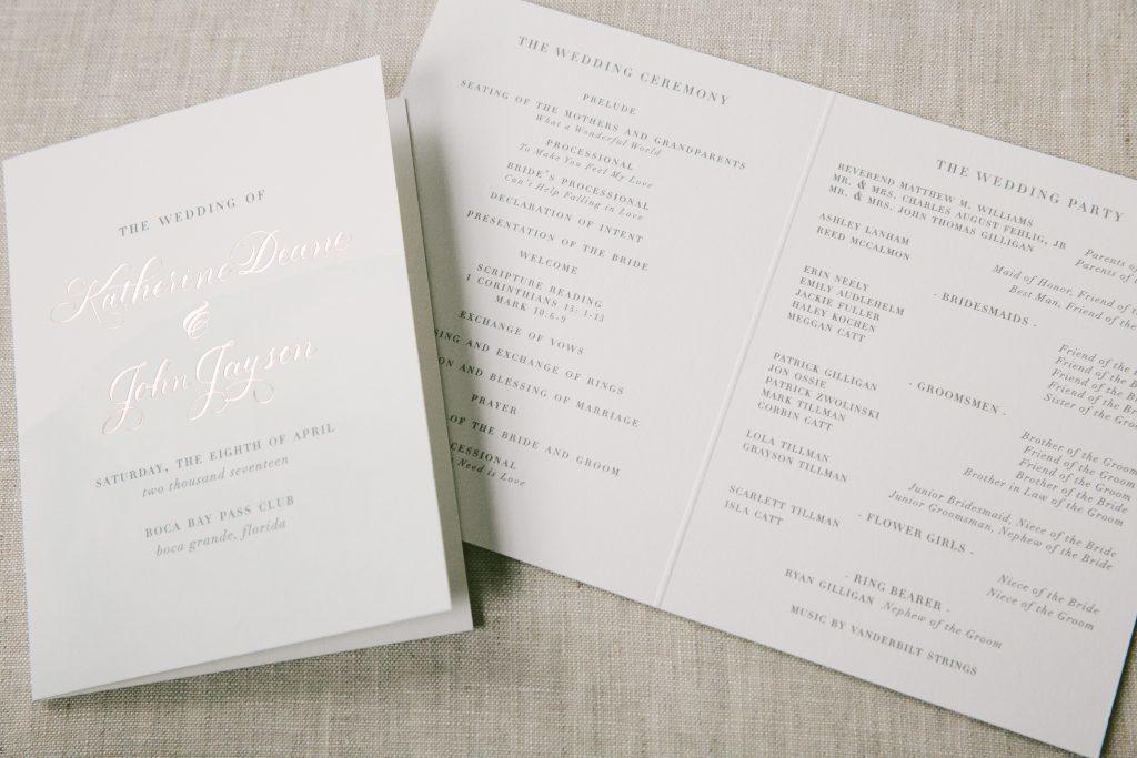 Foil Stamped Wedding Invitations 68 Vintage  foil stamped watercolor
