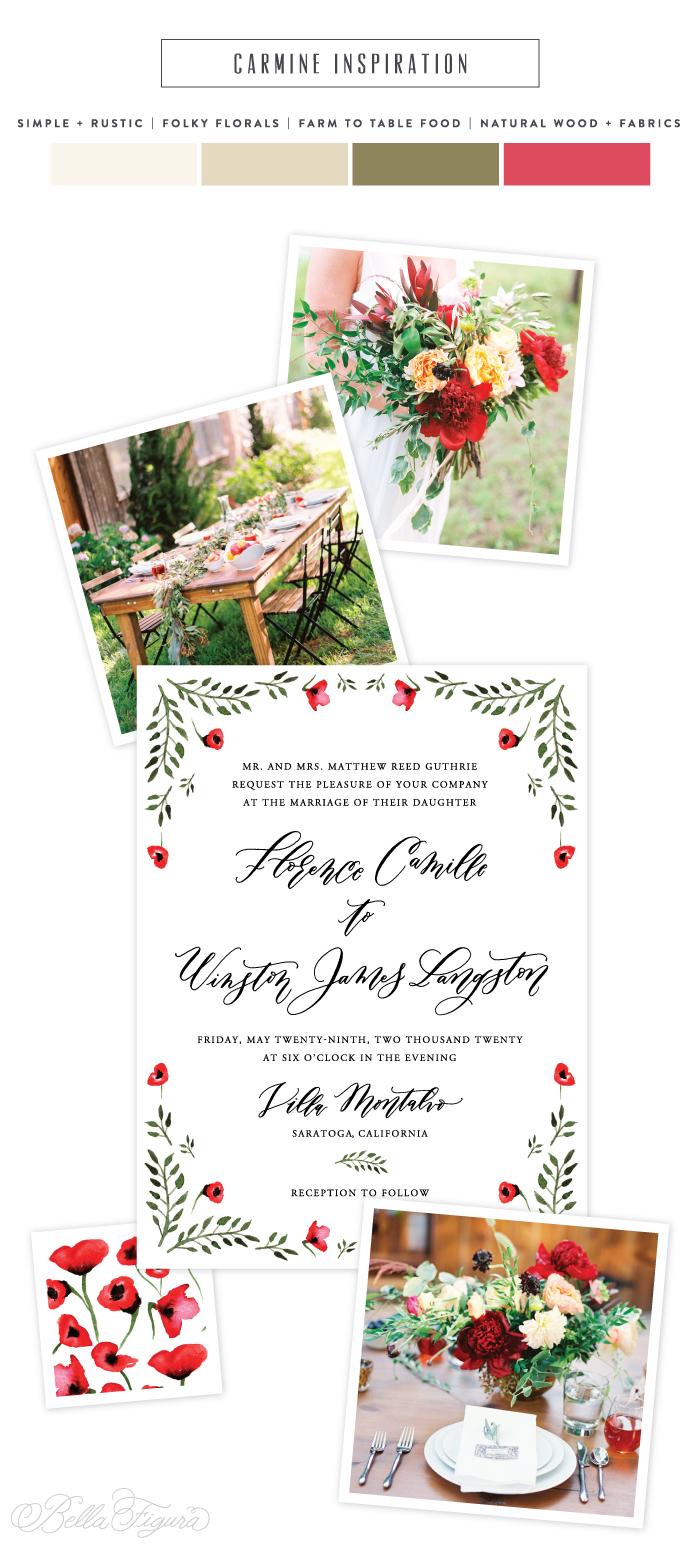 Wedding Invitation 96 Superb digital inks cmyk letterpress