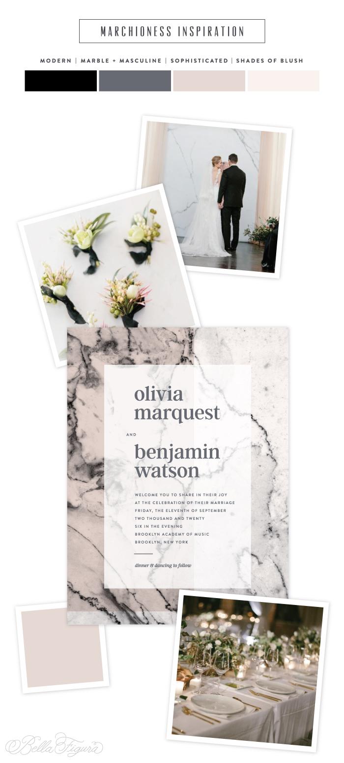Wedding Invitation 79 Superb Marchioness marble wedding invitation