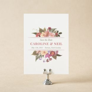 Caroline Save the Date design