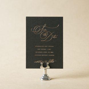 Evangeline Save the Date design