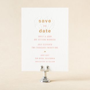 Finola Save the Date design