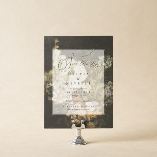 Neville Save the Date design