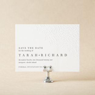 Opaline Save the Date design