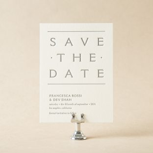 Pantheon Save the Date design