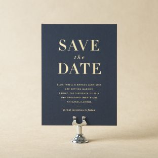 Roosevelt V.2 Save the Date design