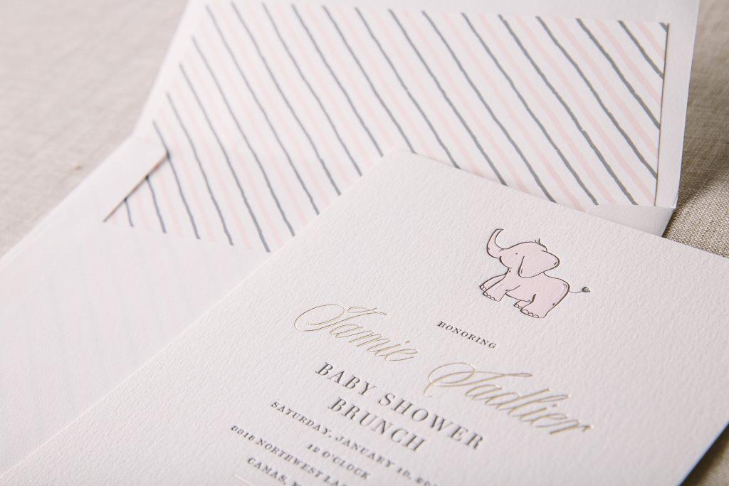 baby shower invitations Bella Figura