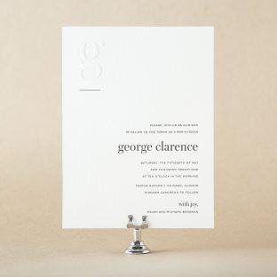 Clarence Mitzvah design