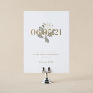 Daphne save the date design