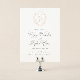 Nadia save the date design