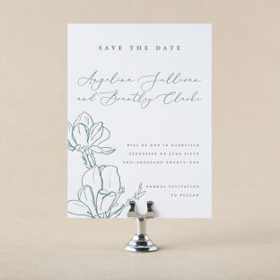 Vienne save the date design