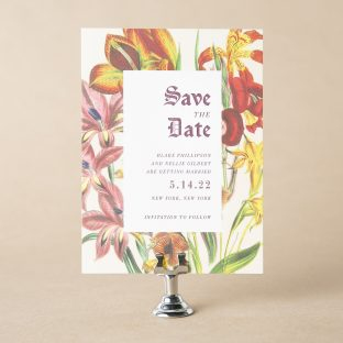 Blake save the date design