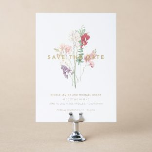 Ninette save the date design