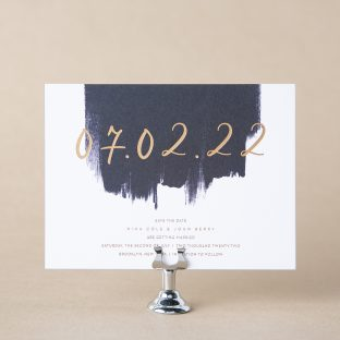Pigment save the date design