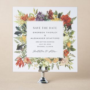 Thorley save the date design