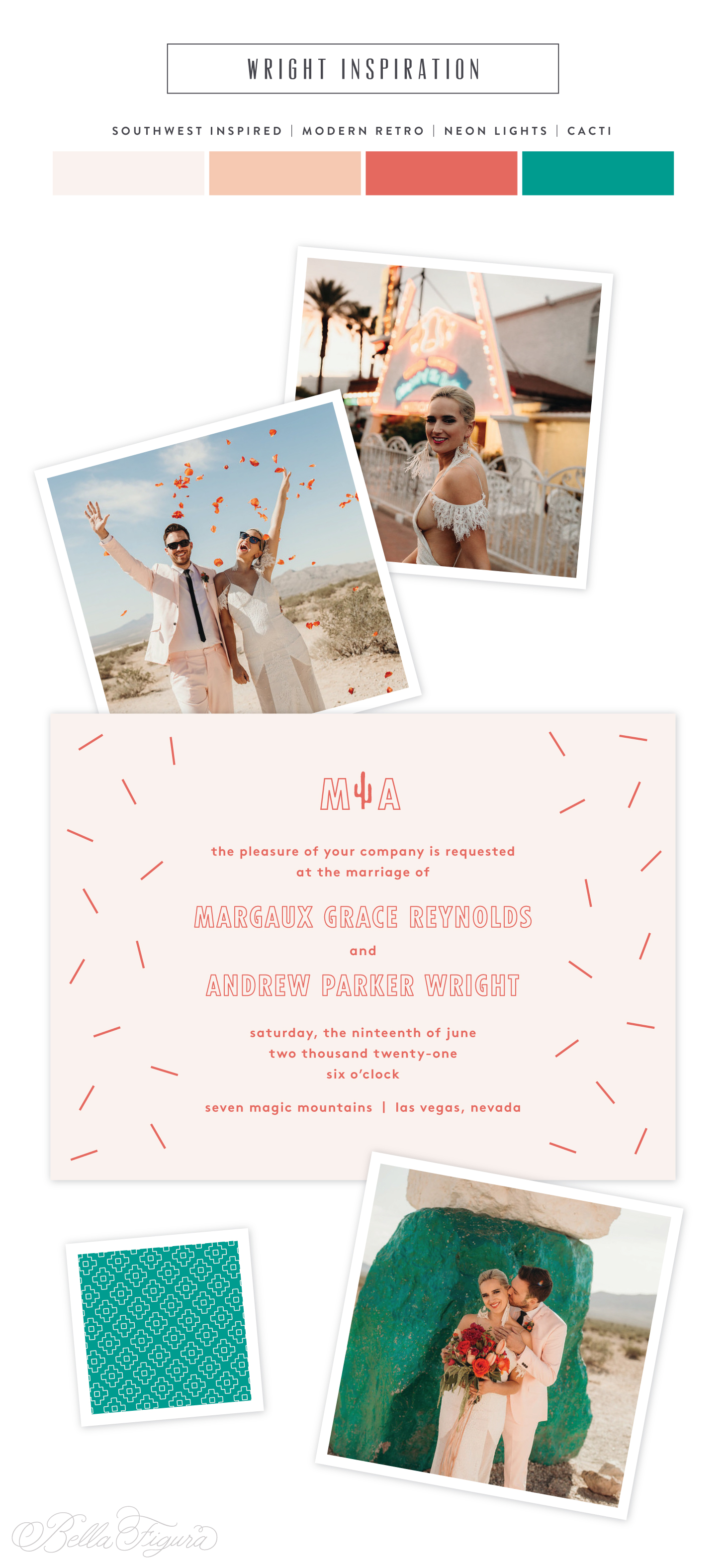 southwest inspired invitation