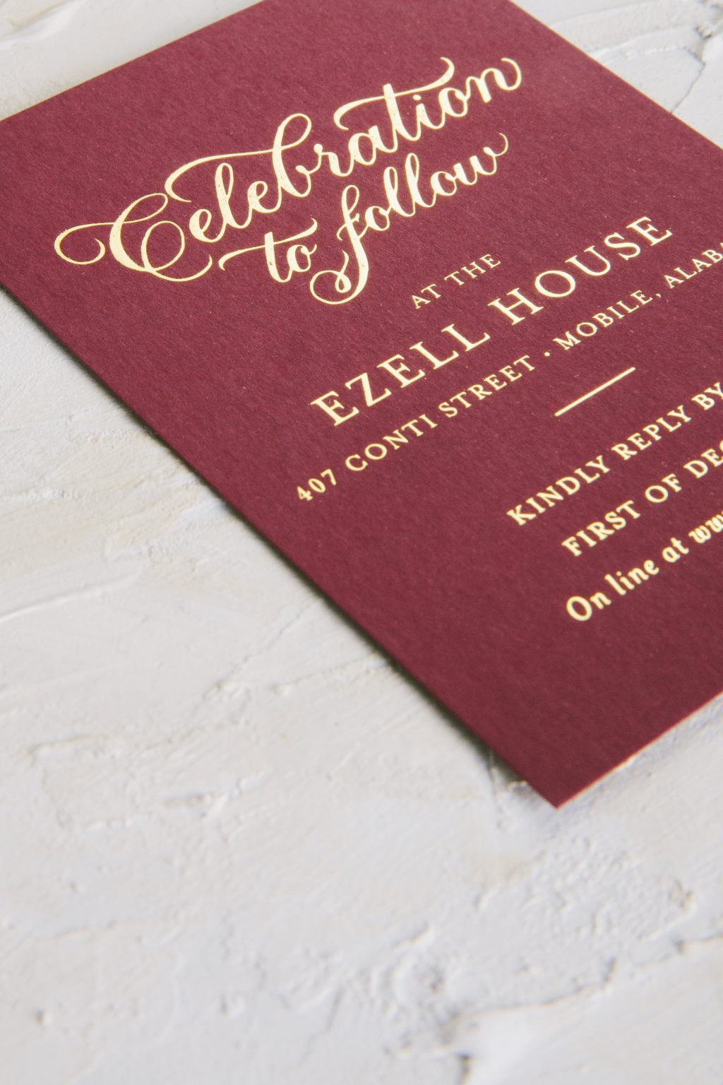 gold shine wedding invitations