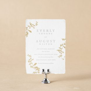 Everly V.2 save the date design