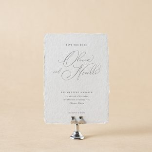 Neville V.2 save the date design