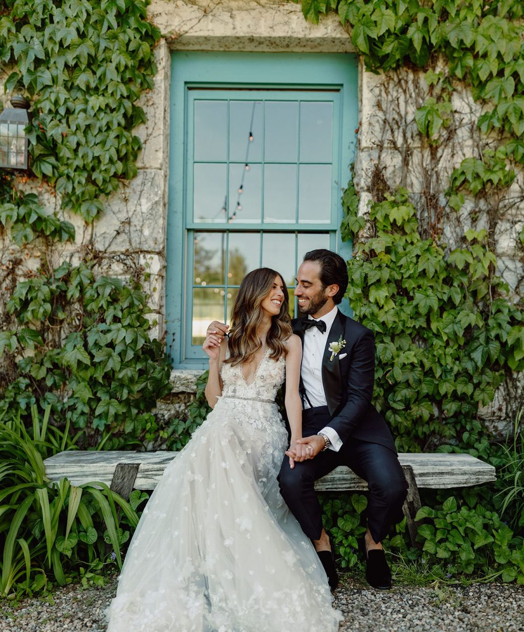 Q: CAN YOU SHARE WITH US A BIT ABOUT YOUR WEDDING AND YOUR INSPIRATION FOR THE EVENT?