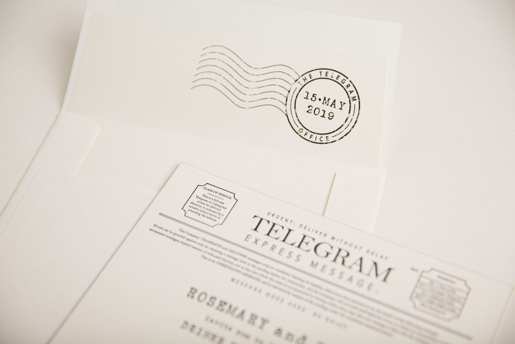 Telegram inspired invitations