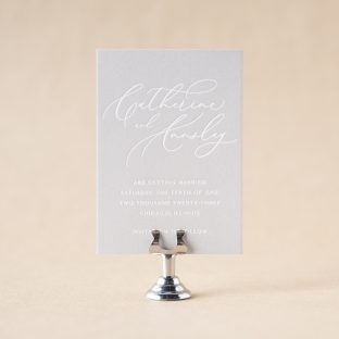 Annsley Save the Date design