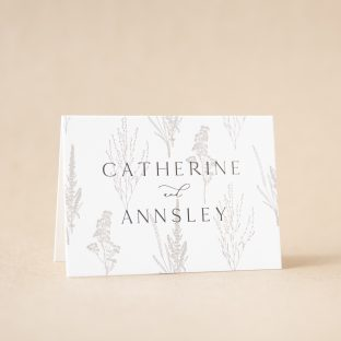 Annsley Thank You Card design