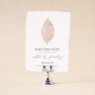 Arboretum Save the Date design