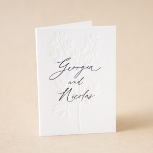 Augusta Thank You Card design