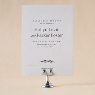 Hollyn Save the Date design