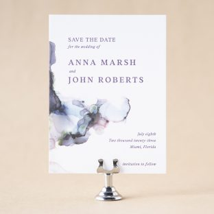 Isa Save the Date design