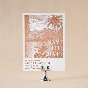 Kailua Save the Date design