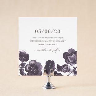 Malua Save the Date design