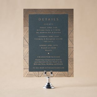 Mara Details Card design