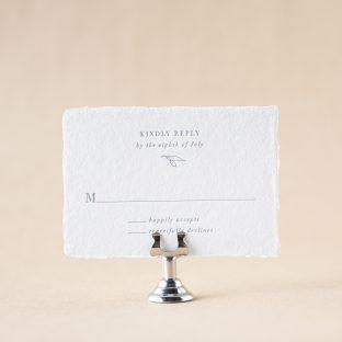 Novella Reply Card design